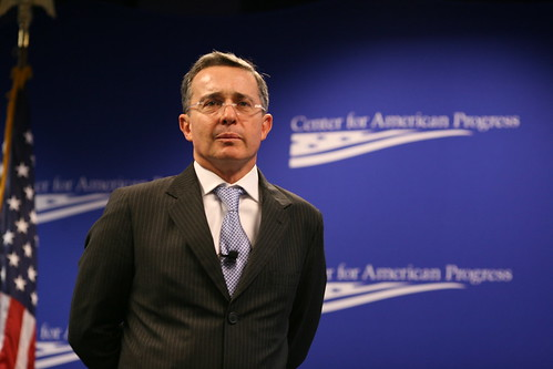President Alvero Uribe | by Center for American Progress