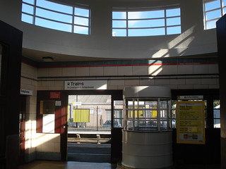 Inside Hoylake's Art Deco Station, Wirral, England | by ilcavaliereinglese