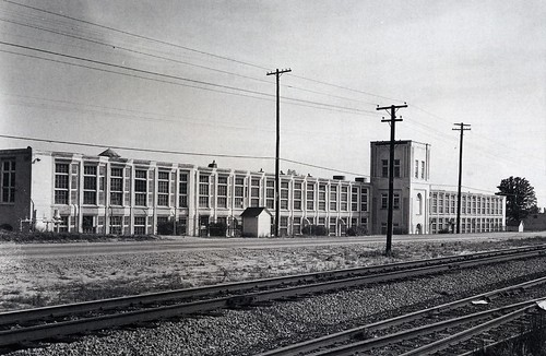 Georgia Western Cotton Mill - 1950s | by //Andrew A Powell