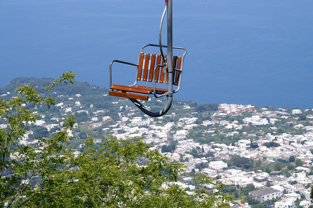 capri chair lift view over anacapri tina p flickr