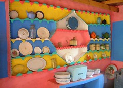traditional basotho house with decorated walls - decoratio… | flickr
