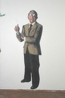 Walk of Fame, Mural of George Burns from Oh God | by California State University Channel Islands