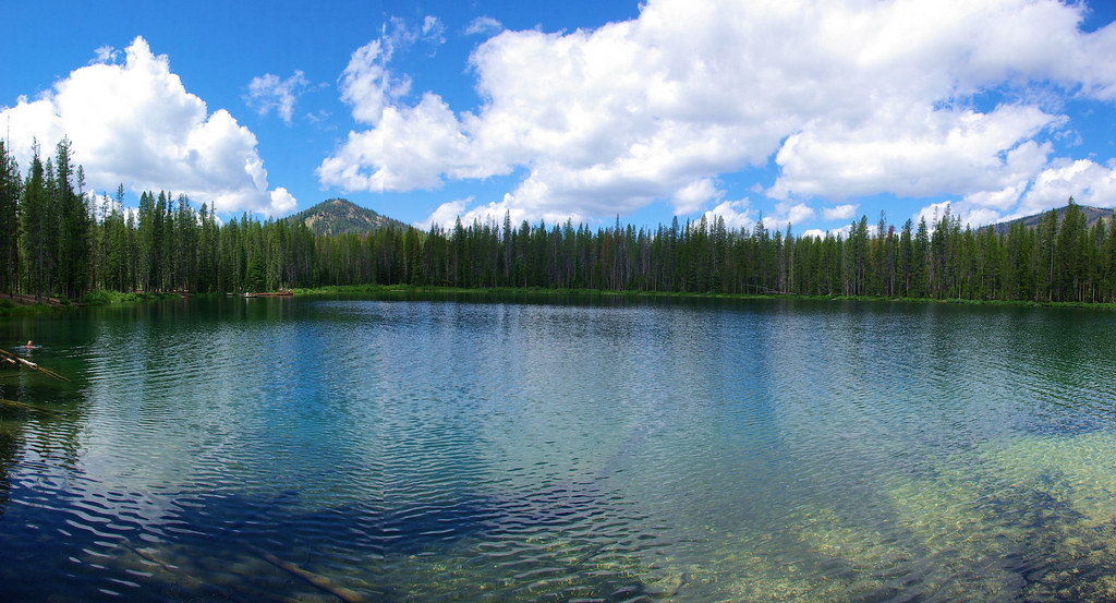 Martin Lake Next To Bull Trout Campground Idaho Composit Flickr