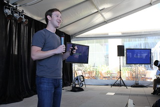 Facebook Press Conference | by Robert Scoble