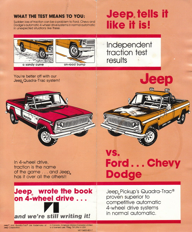 Jeep vs Ford Chevy and Dodge  geepstir  Flickr