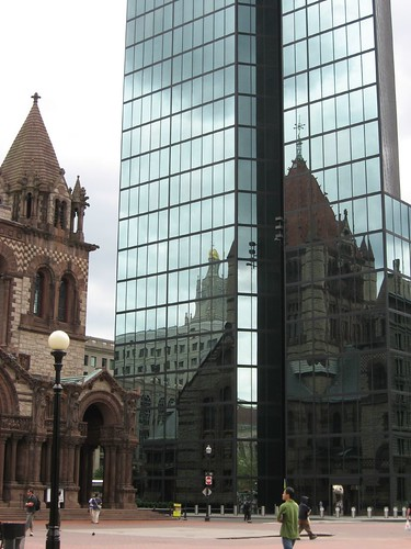 Trinity Church & Hancock Tower | by angela n.