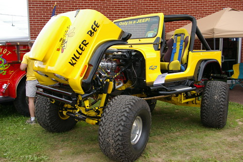 Quot Killer Bee Quot Jeep Cj 7 With Rear Steering Bloomsburg