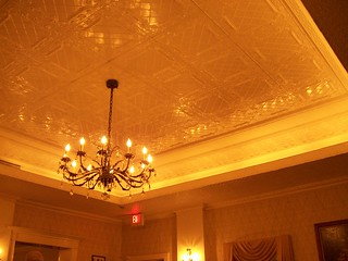 ceiling at Taix | by JessicaWatkins