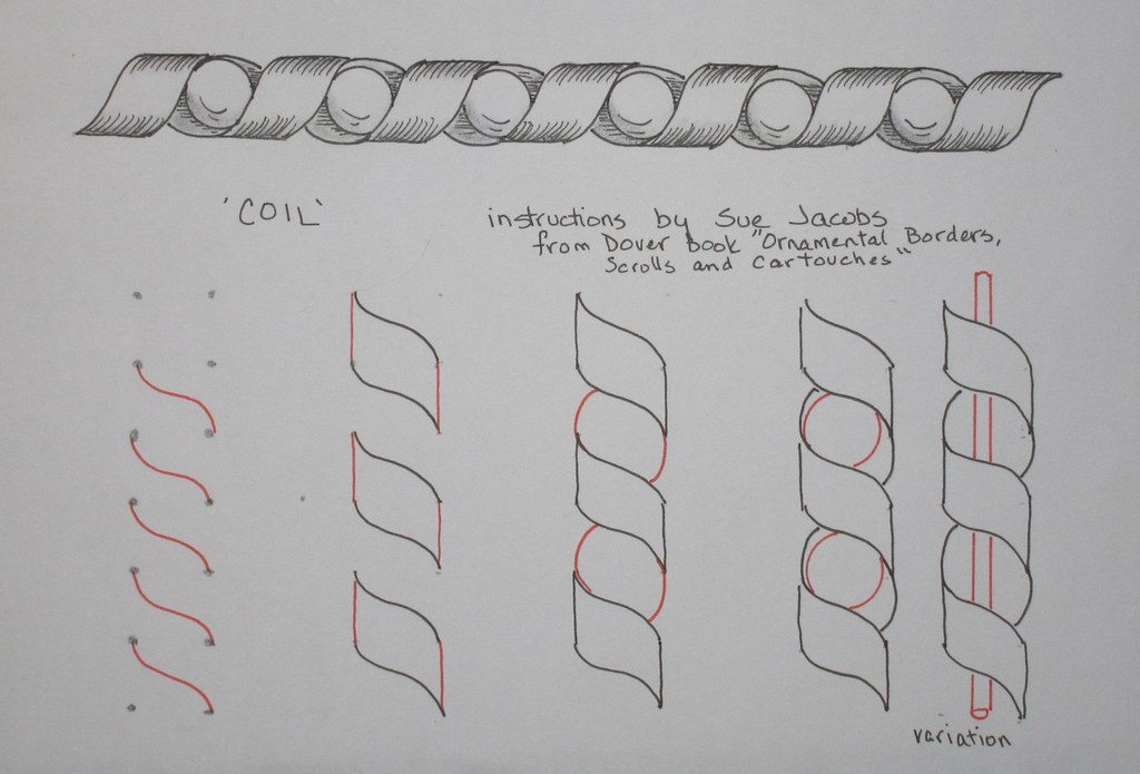 Zentangle Instructions Flickr