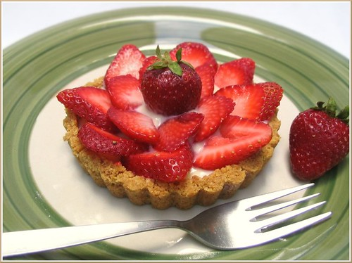 Strawberry Tart | by Nook & Pantry