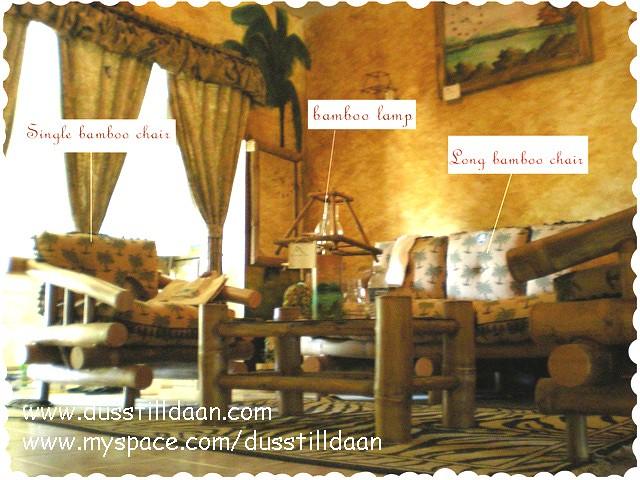Dusstilldaan bamboo living room set   featuring ...Dusstilld ...