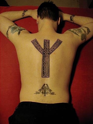 Image result for algiz tattoo