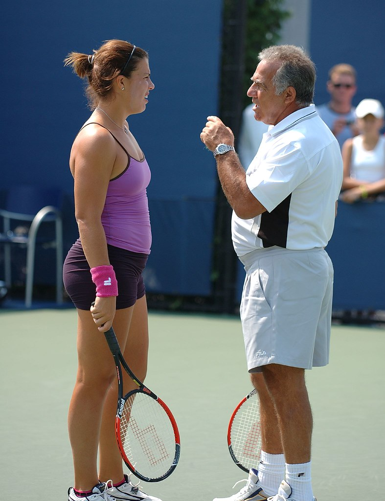Jennifer Capriati And Dad My 2008 U S Open pics can be fo…