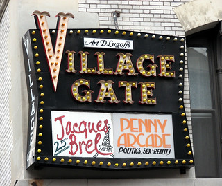 NYC: Village Gate Sign | by Professor Bop