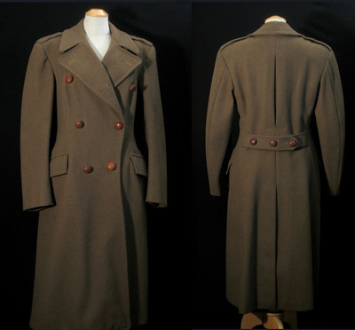 Vintage 40s WWII Military Style Great Coat S Norfold Pleat… | Flickr