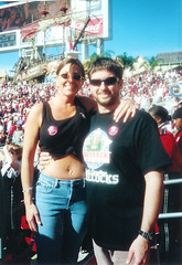 Outback Bowl 2001 w/Dylan | by KTucker