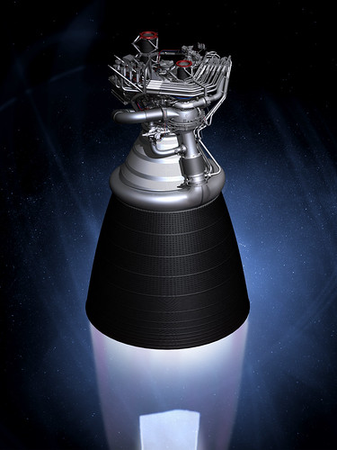 J-2X Rocket Engine: Artist Concept (NASA, 11/08/10) | by NASA's Marshall Space Flight Center