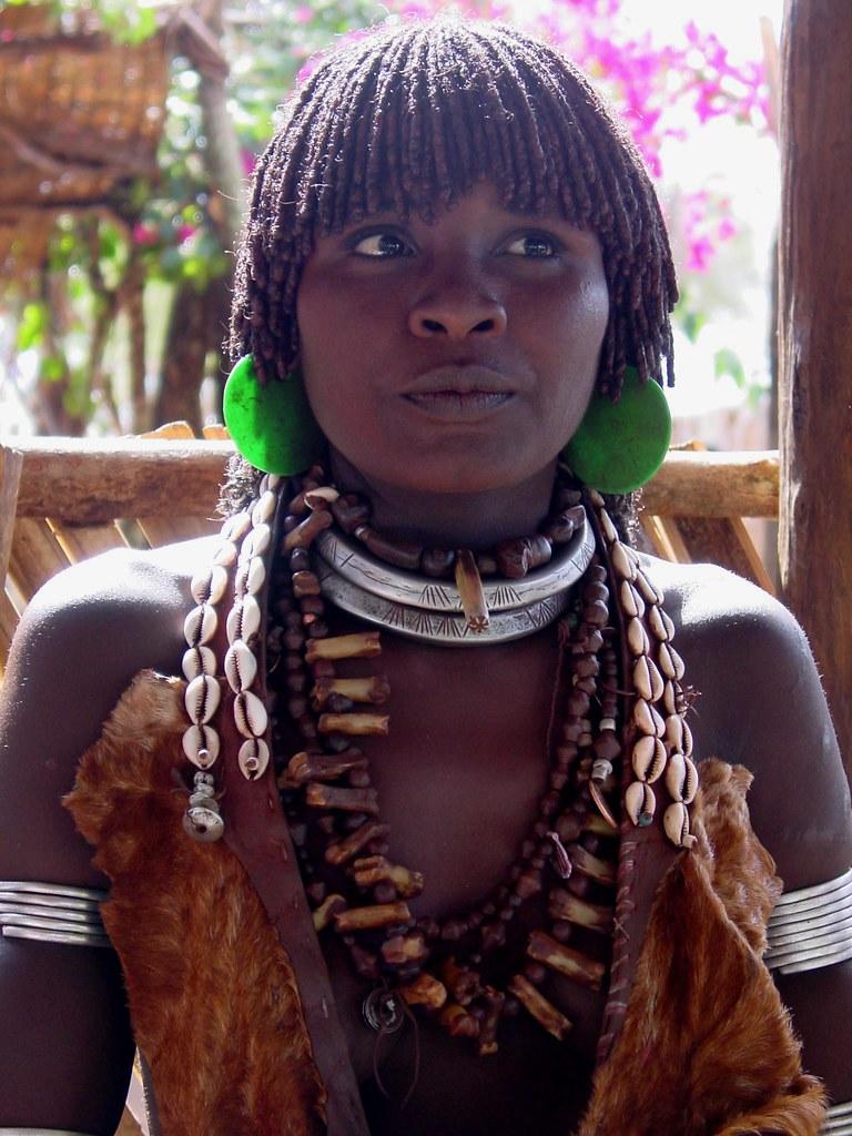 Ethiopia - Hamer Girl | her name is Keske Gueta and we met h