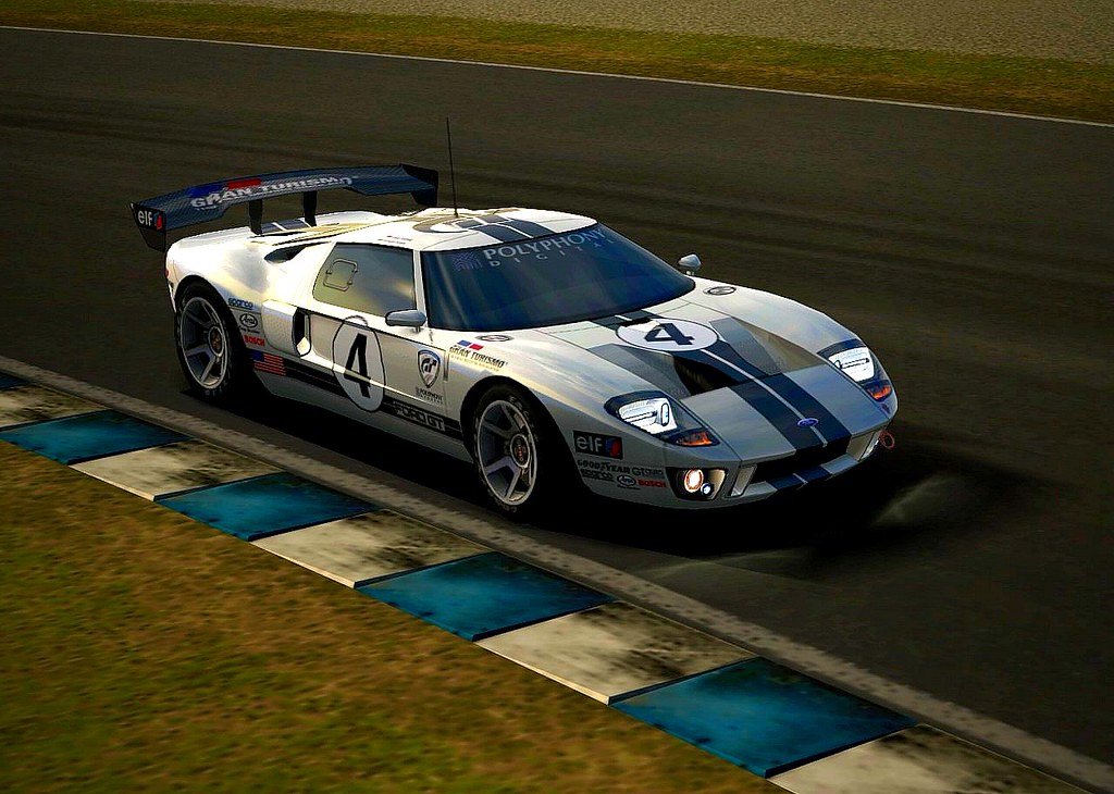 Gran Turismo  Ford Gt Lm Race Car Spec Ll   Of