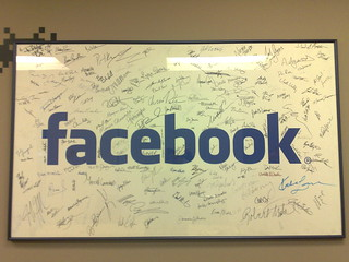 Poster inside a Facebook office | by Robert Scoble