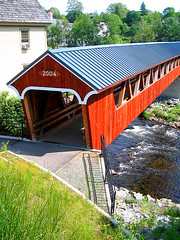 New Covered Bridge It Is Very Likely There Was An Old