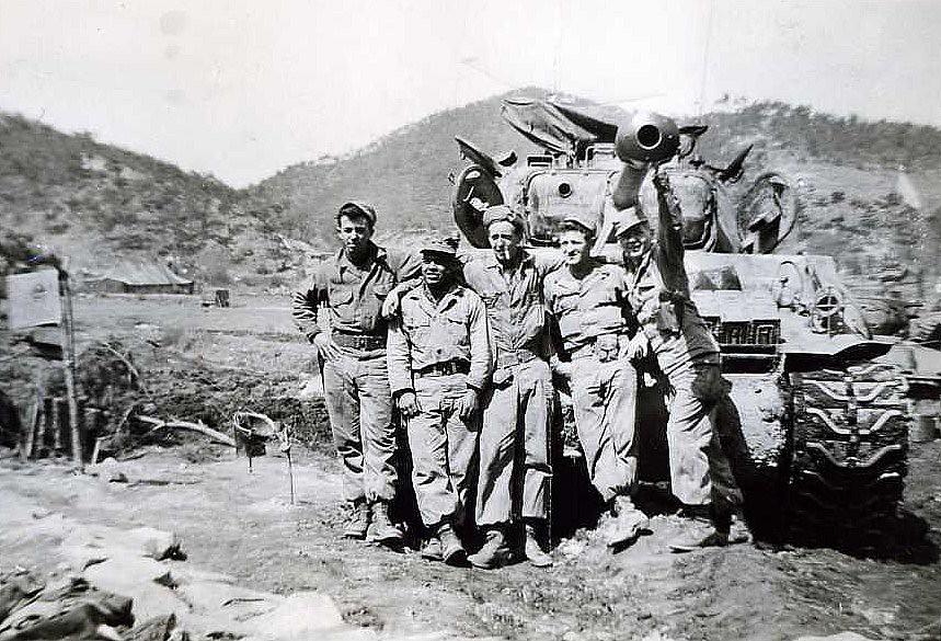 Tank Commanders Of 4th Platoon Korea 1952