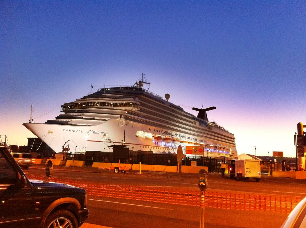 Carnival Cruise Ship Splendor Arrives At Port Of San Diego Flickr - Where do cruise ships dock in san diego
