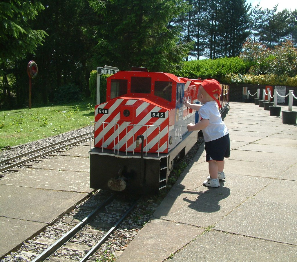 Garden Trains You Can Ride