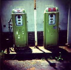 Green Gas Pumps II | by Barbara L. Hanson