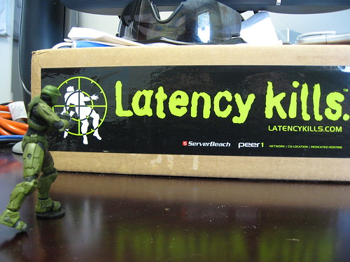 Master Chief says: Latency Kills. | by tby