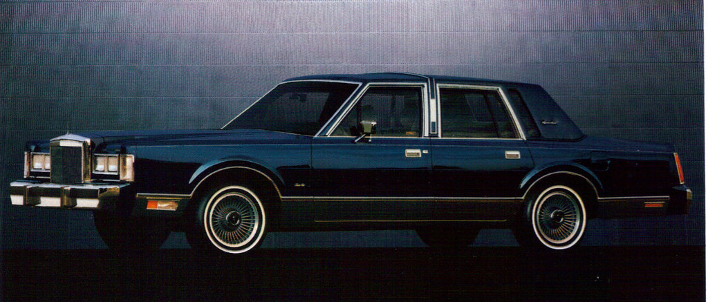 1988 Lincoln Town Car Coconv Flickr