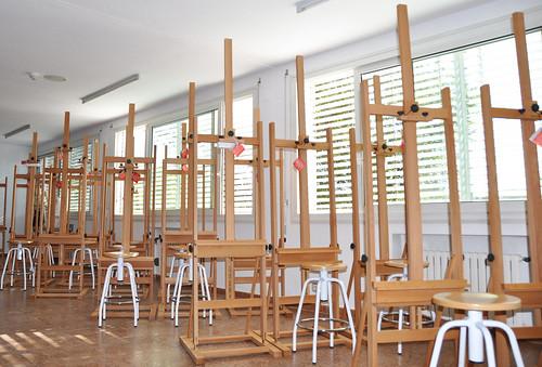 Esne aula de dibujo art stico esne escuela universitaria - Escuela universitaria de diseno ...