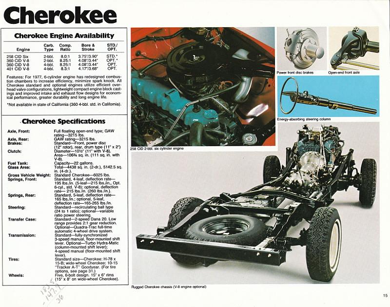 1977 Jeep Sales Brochure Set | Flickr