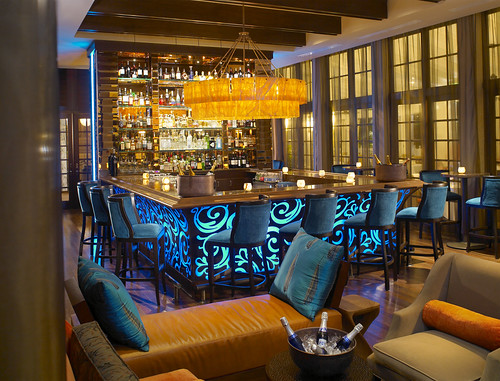 Bar at Essensia Lounge | by thepalmshotel