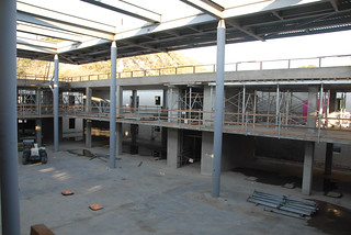 Construction view of  Broome Library | by California State University Channel Islands