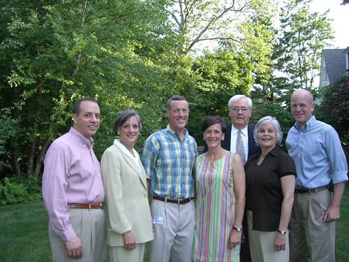 Peter Amuso, Rep. Allyson Schwartz, Jeff Harbison, Valerie