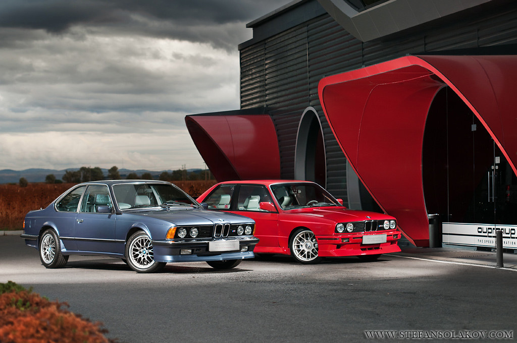 BMW E24 M6  BMW E30 M3  These two cars have been totally r  Flickr