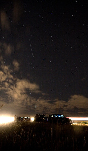 Me and the Russians watch for Perseids | by Airchinapilot