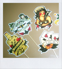 Tattoo Cake Toppers