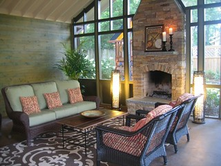 Screened Porch In Nashville Tennessee By Cke Interior Des Flickr