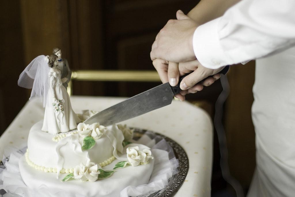 Anschneiden Der Hochzeitstorte Torsten Mangner Flickr