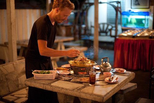 Tyler Cooking Thai Barbecue | by goingslowly