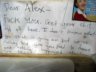 Dear Alex - | by passiveaggressivenotes