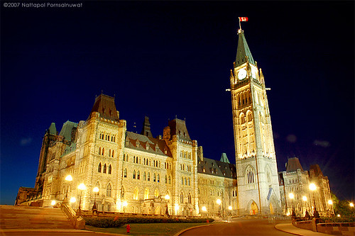 Parliament at night | by jpnuwat