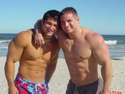 Two muscleguys | Blake | Flickr