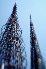 Watts Towers skyline | by NW