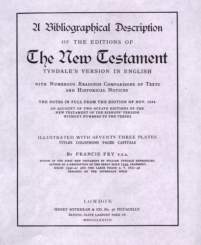 Fry Bibliography Title | by bible_wiki