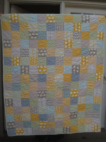 elephant baby quilt | by Leigh - leedle deedle quilts