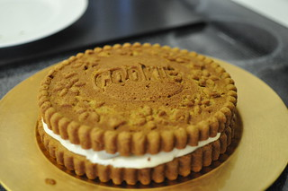 Giant Pumpkin Cookie Cake | by moyemotto