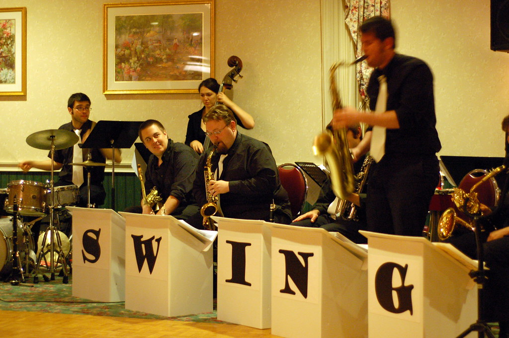 The Beantown Swing Orchestra A Saxophone Solo In The Beant